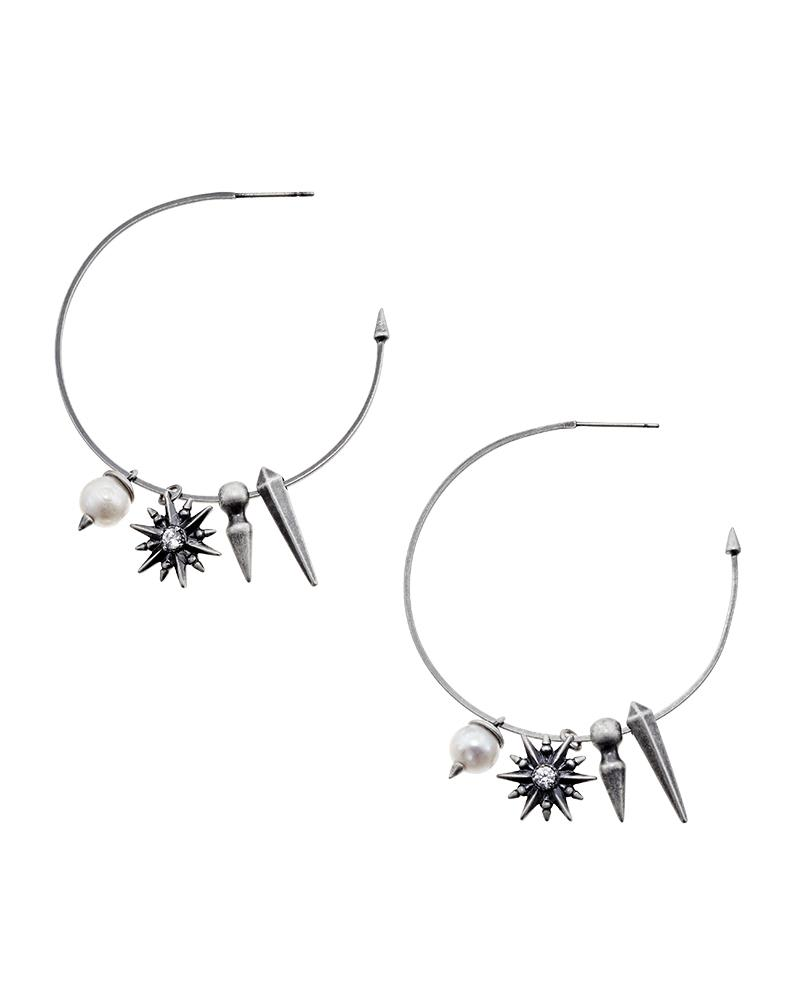 Cindy Hoop Earrings
