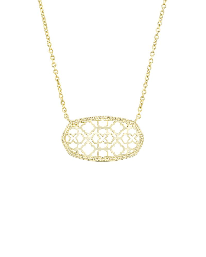 Dollie Pendant Necklace in Gold