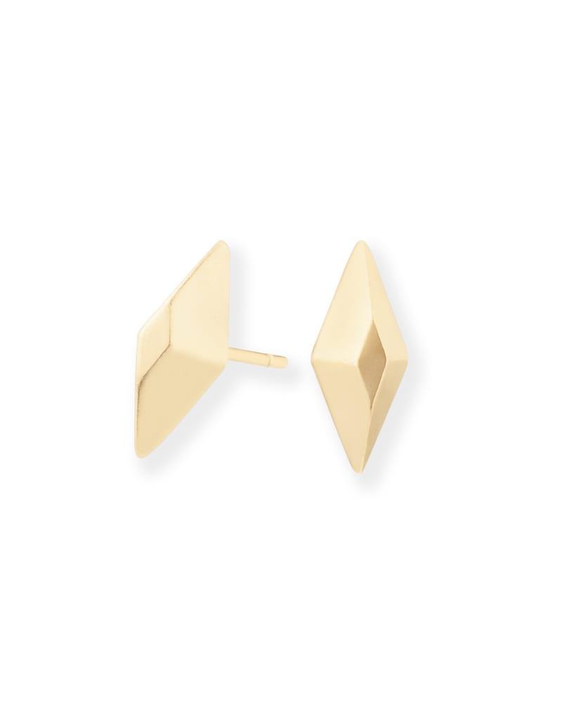 Ezra Stud Earrings in Gold