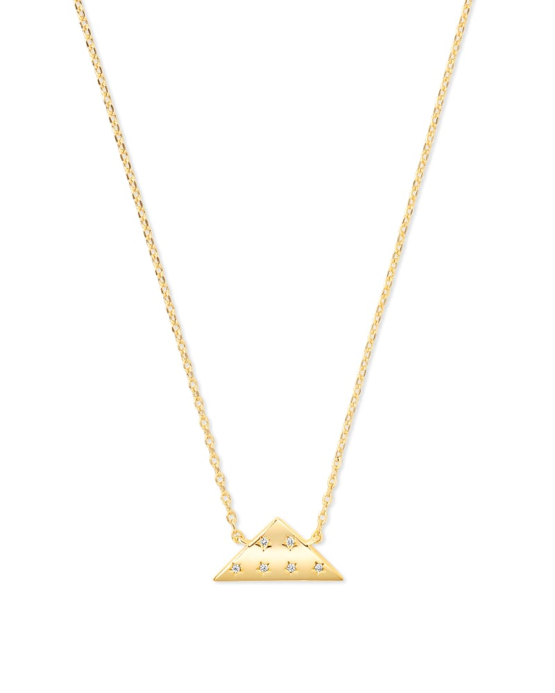 Folds of Honor Pendant Necklace in Gold | Kendra Scott