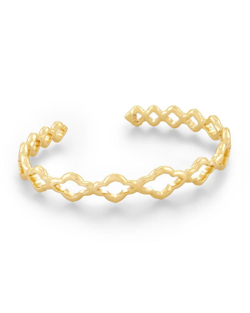 Abbie Cuff Bracelet in Gold | Kendra Scott | Kendra Scott