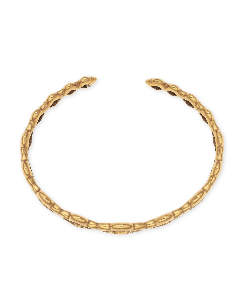 Abbie Cuff Bracelet in Vintage Gold | Kendra Scott