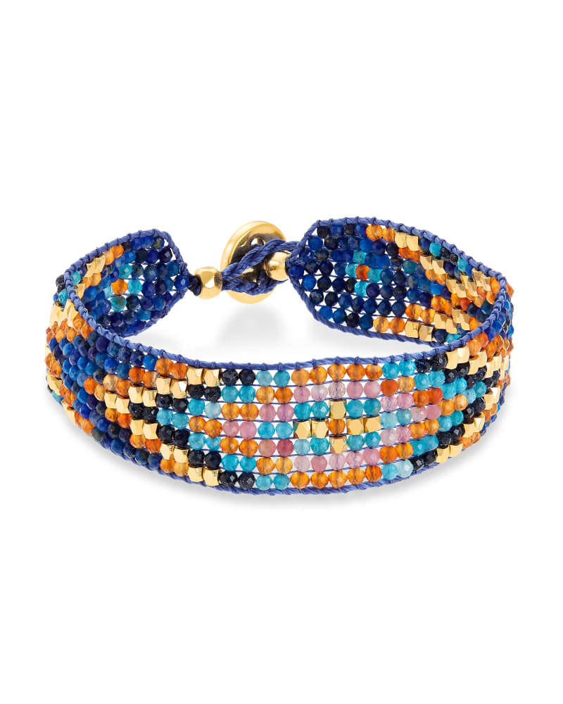 Britt Gold Beaded Bracelet in Multi Mix   Kendra Scott