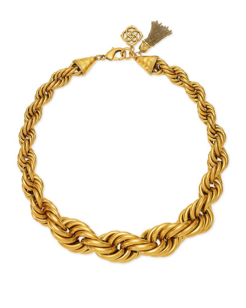 Monika Chain Necklace in Vintage Gold | Kendra Scott