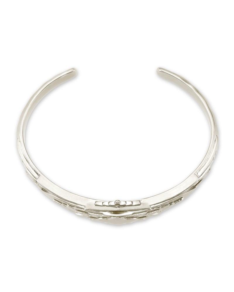 Shiva Cuff Bracelet in Silver