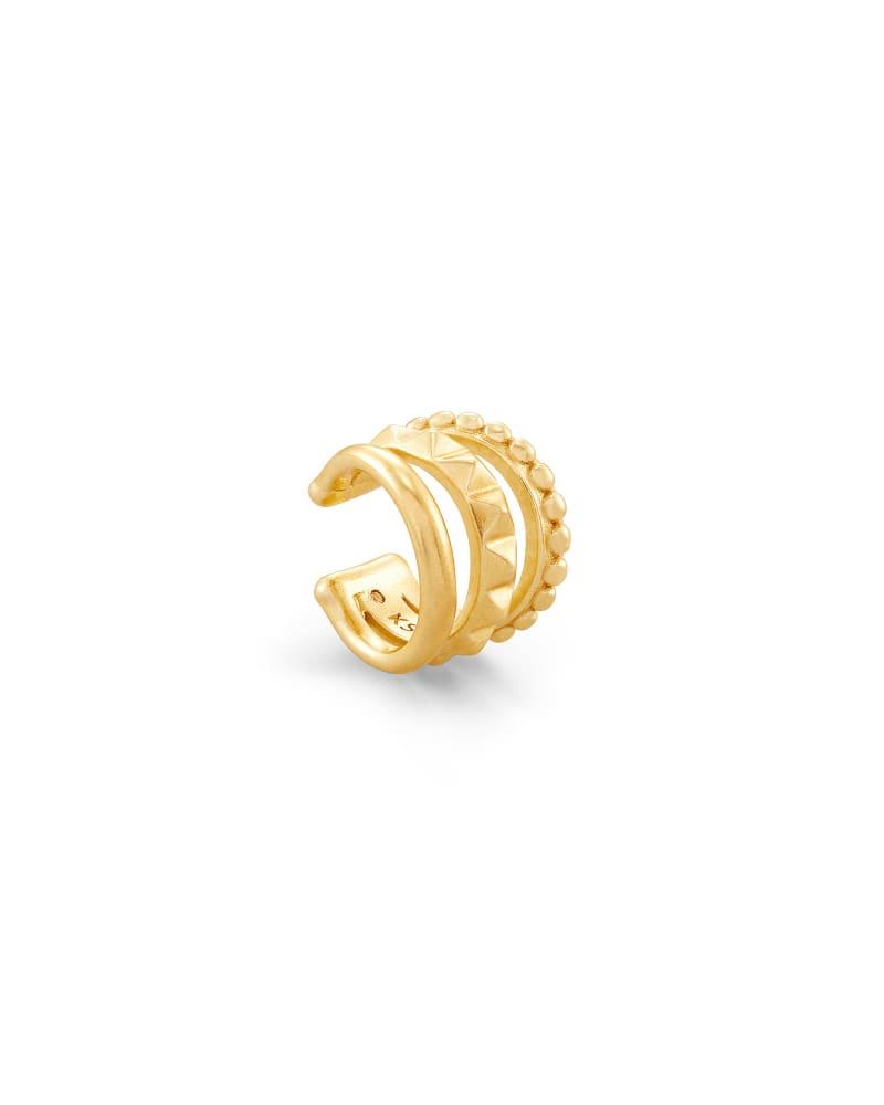 Shiva Gold Ear Cuff