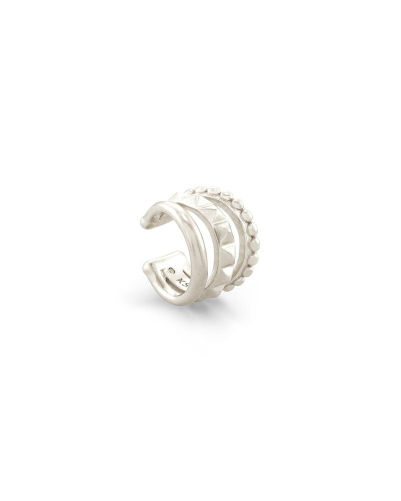 Shiva Silver Ear Cuff