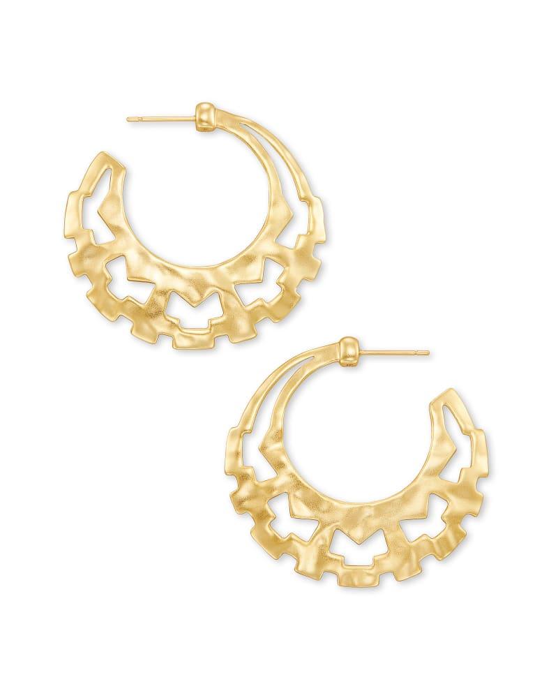 Shiva Hoop Earrings in Gold