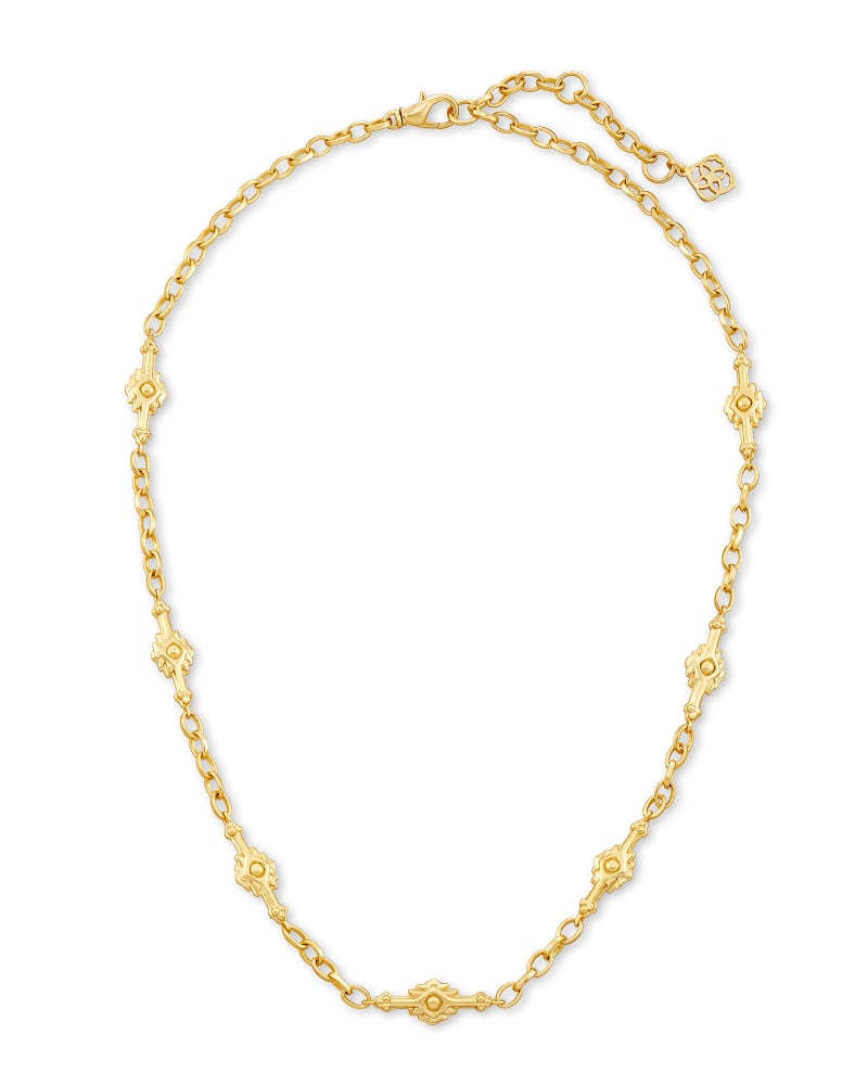 Shiva Strand Necklace in Gold