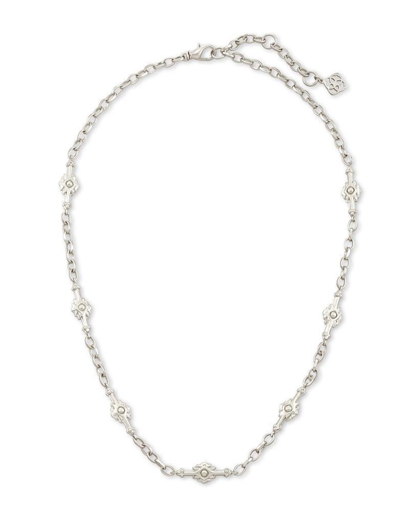 Shiva Strand Necklace in Silver