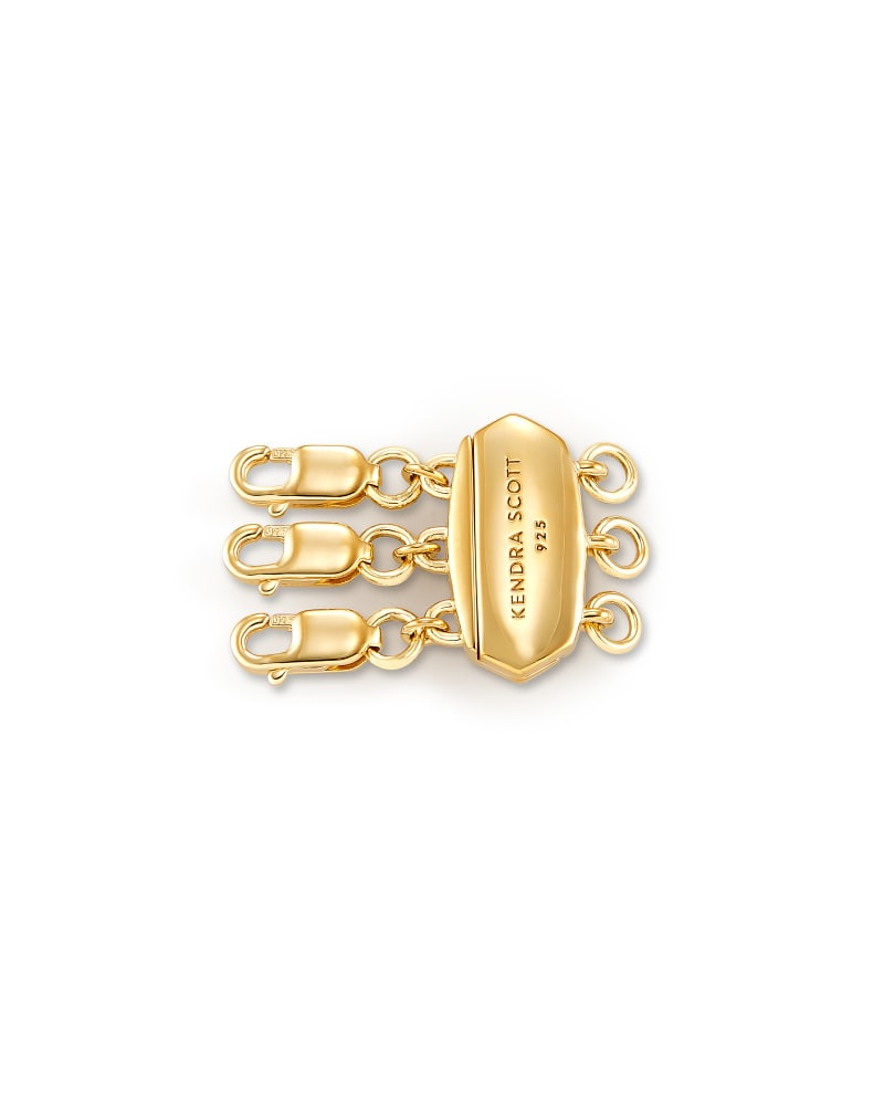 Layer It! Necklace Clasp in 18k Yellow Gold Vermeil