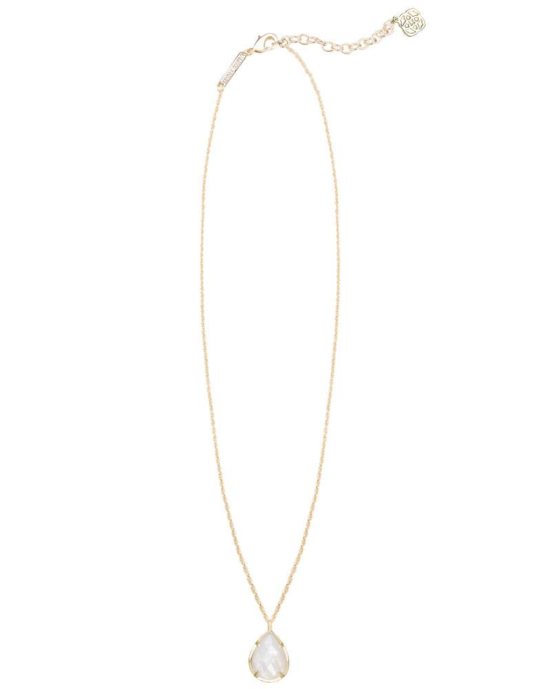Kiri Necklace in Ivory Pearl