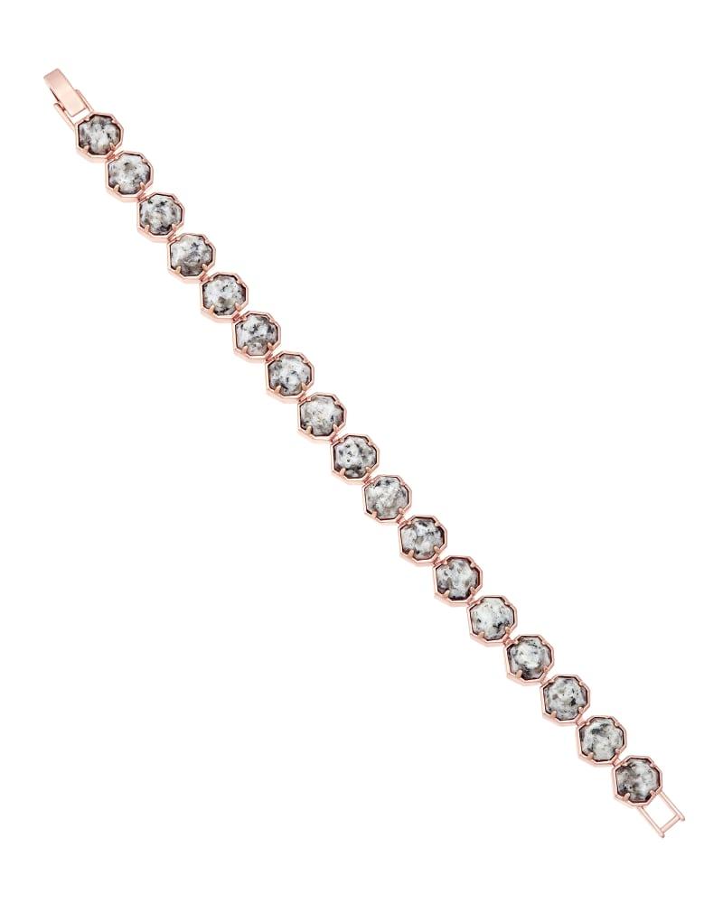Lace Bracelet in Gray Granite
