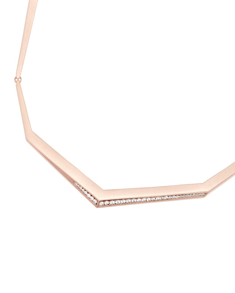 Lucas Choker Necklace in Rose Gold