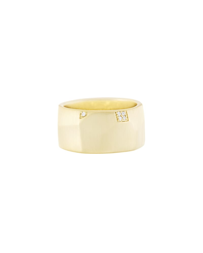 Marnie Ring in Gold - 5