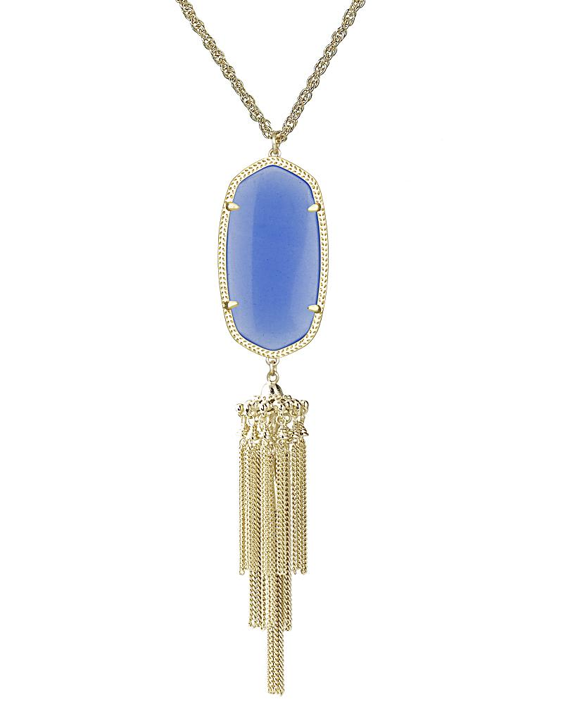 Rayne Necklace in Periwinkle