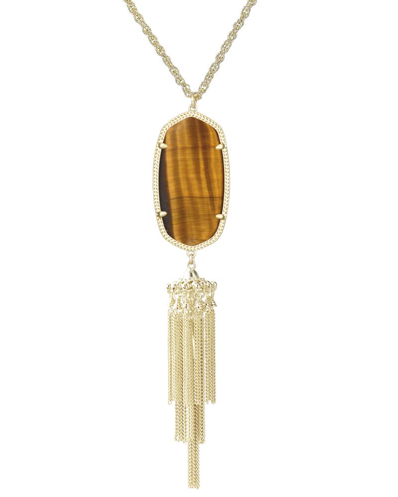 Rayne Necklace in Tiger's Eye