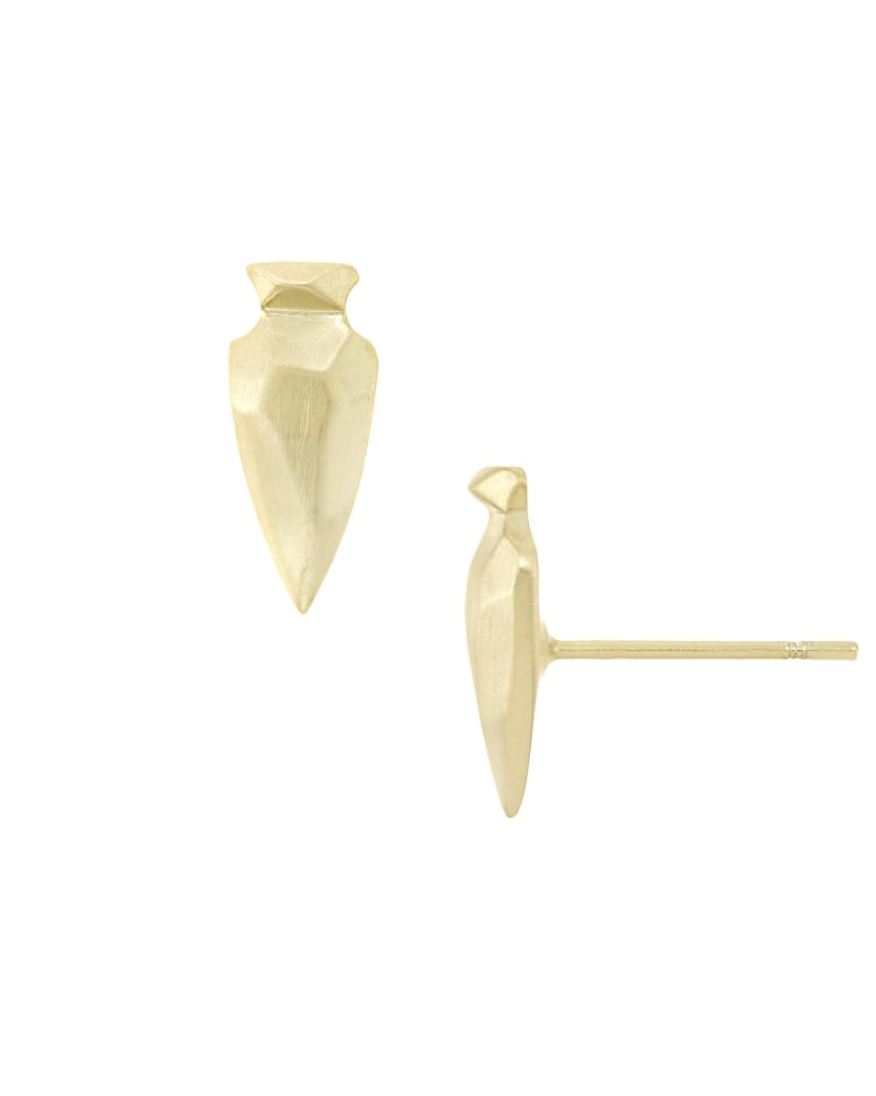 Stacey Stud Earrings in Gold