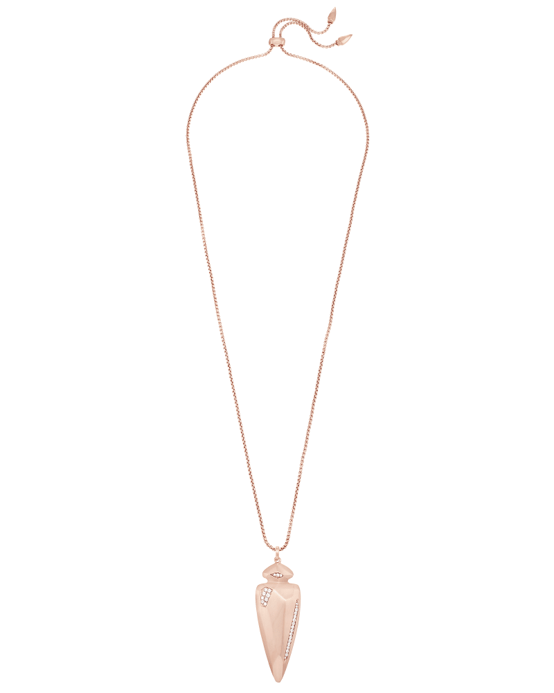 Staley Necklace in Rose Gold