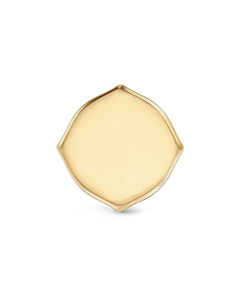 Matilda Stud Earrings in 14k Yellow Gold