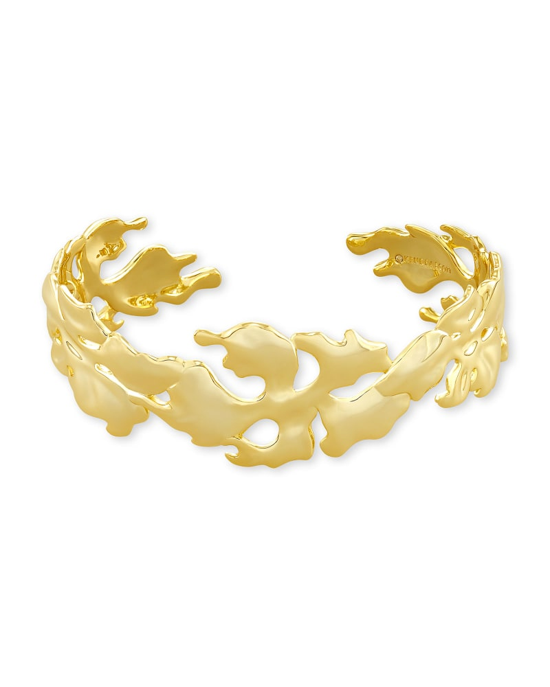 Savannah Cuff Bracelet in Gold | Kendra Scott