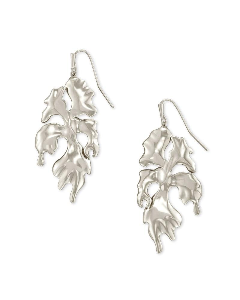 SavannahDrop Earrings in Vintage Silver