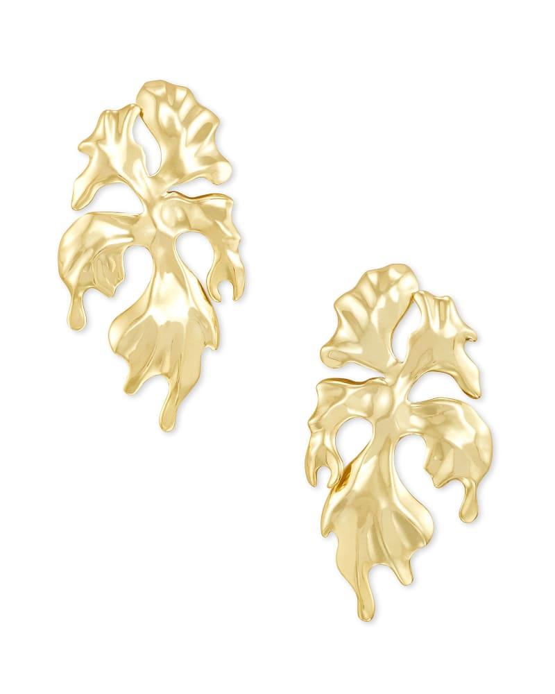 SavannahStatement Earrings in Gold