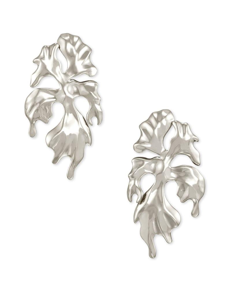 SavannahStatement Earrings in Vintage Silver