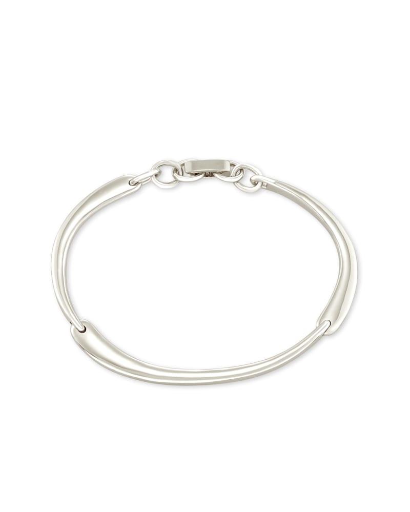 Lori Delicate Bracelet in Bright Silver