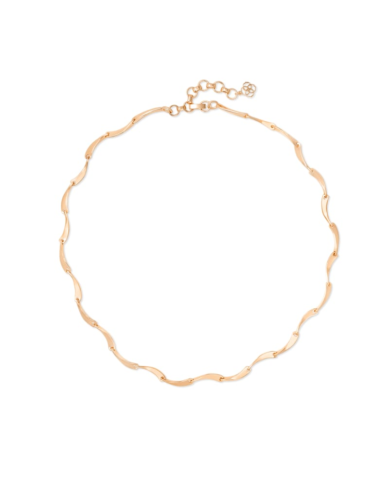 Lori Strand Necklace in Rose Gold