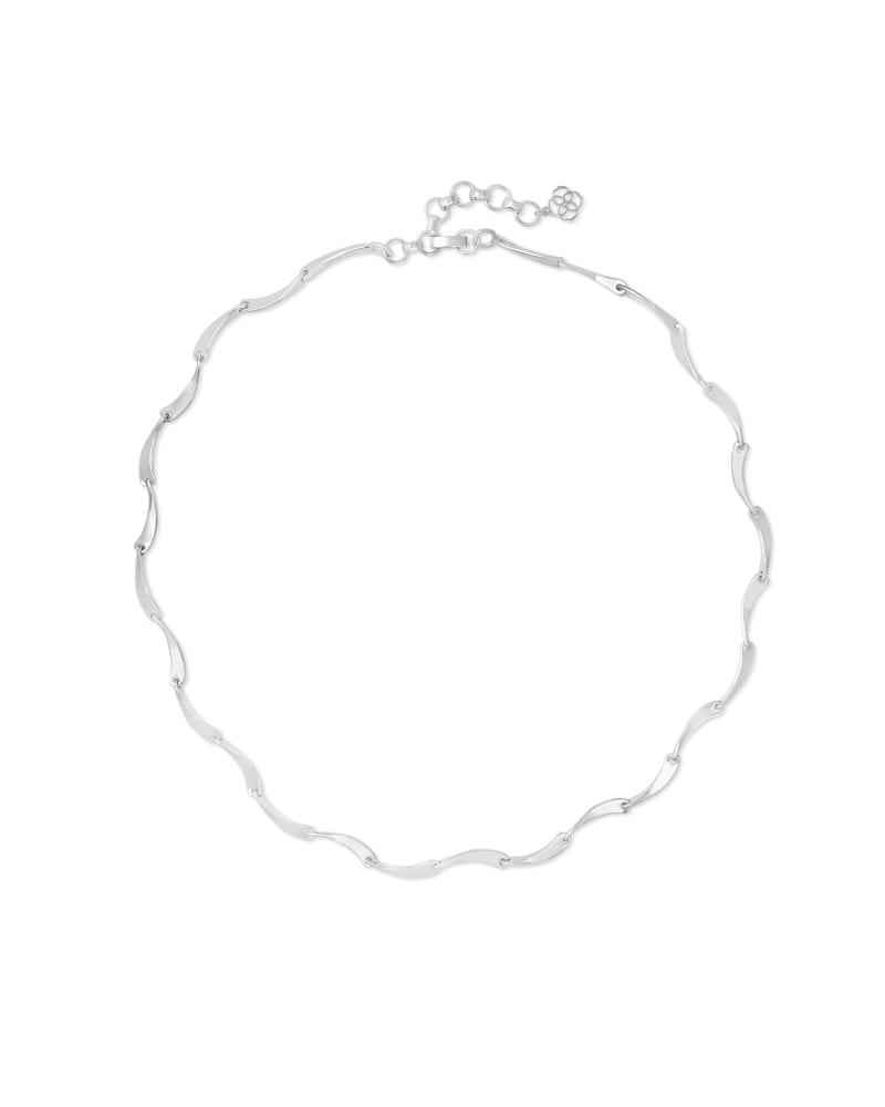 Lori Strand Necklace in Bright Silver