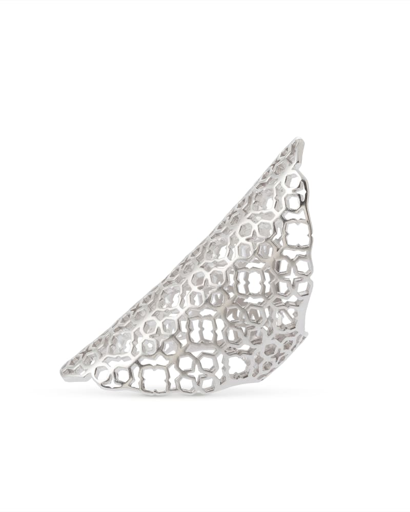 Boone Cocktail Ring in Silver