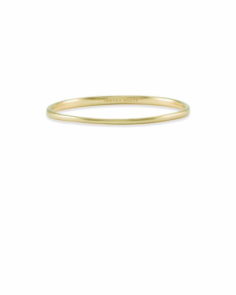 Graduated Bangle Bracelet in Gold