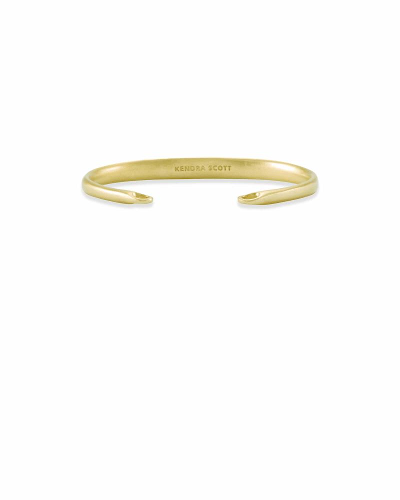 Pinch Cuff Bracelet in Gold