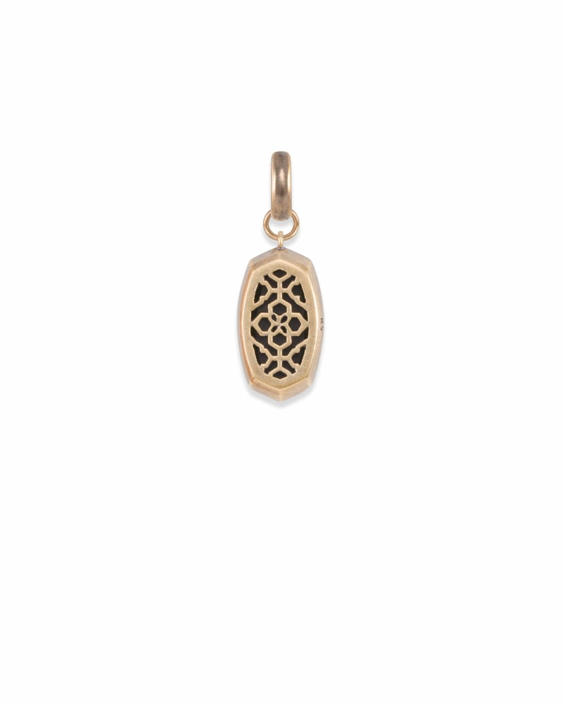 Mood Stone Charm in Vintage Gold