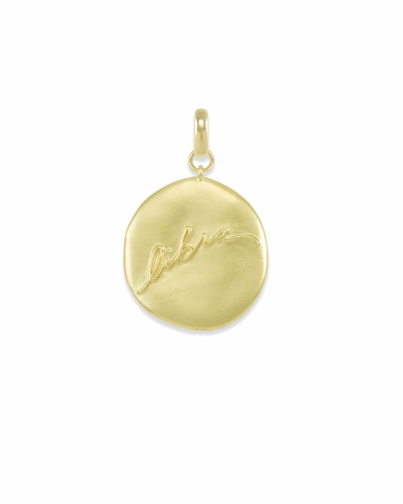 Libra Large Coin Charm