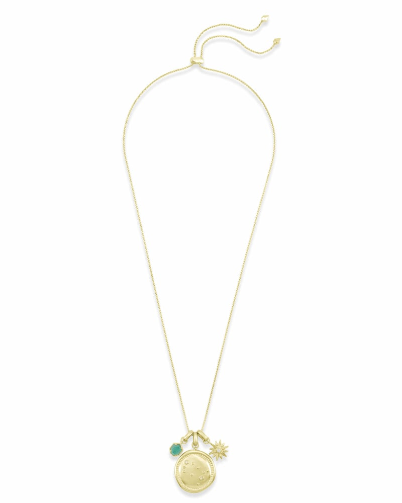May Gemini Charm Necklace Set in Gold
