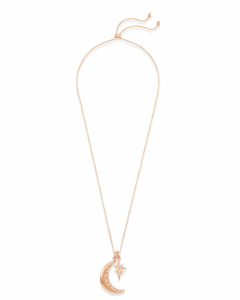 Go Beyond Charm Necklace Set in Rose Gold