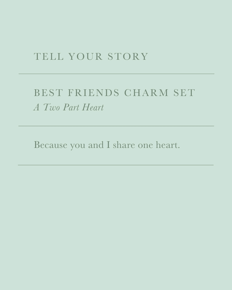 Best Friend Charm Set
