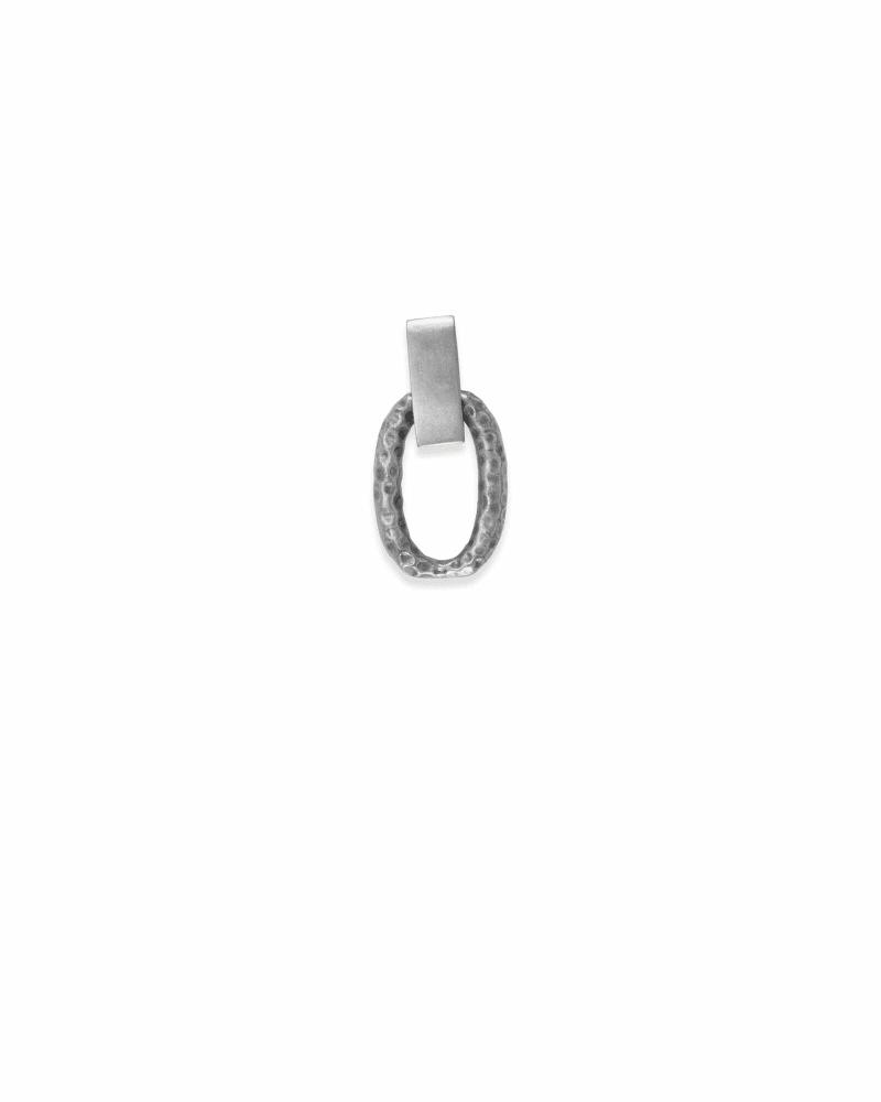 Charm Bracelet Link Extender in Vintage Silver