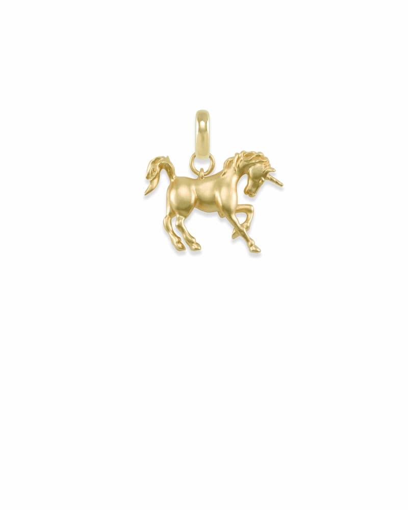 Unicorn Charm in Gold