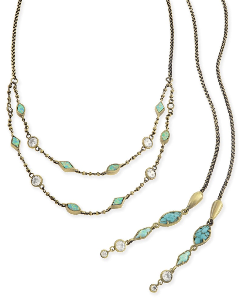 Emelina Lariat Necklace
