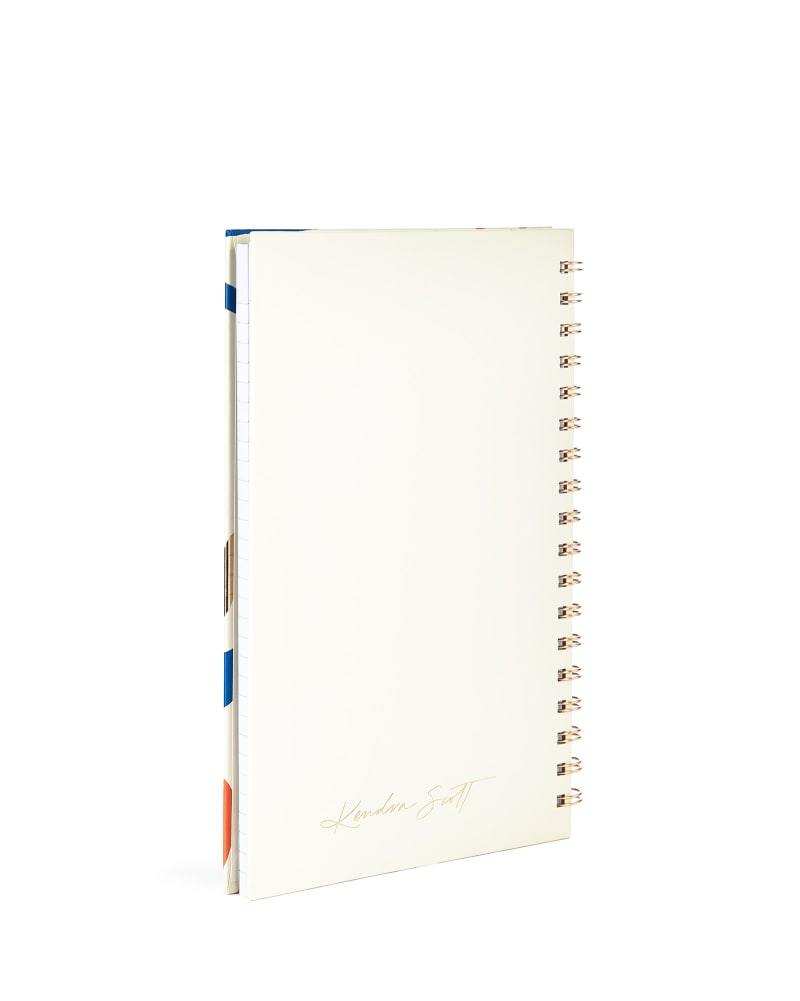 Spiral Notebook in Terrazzo
