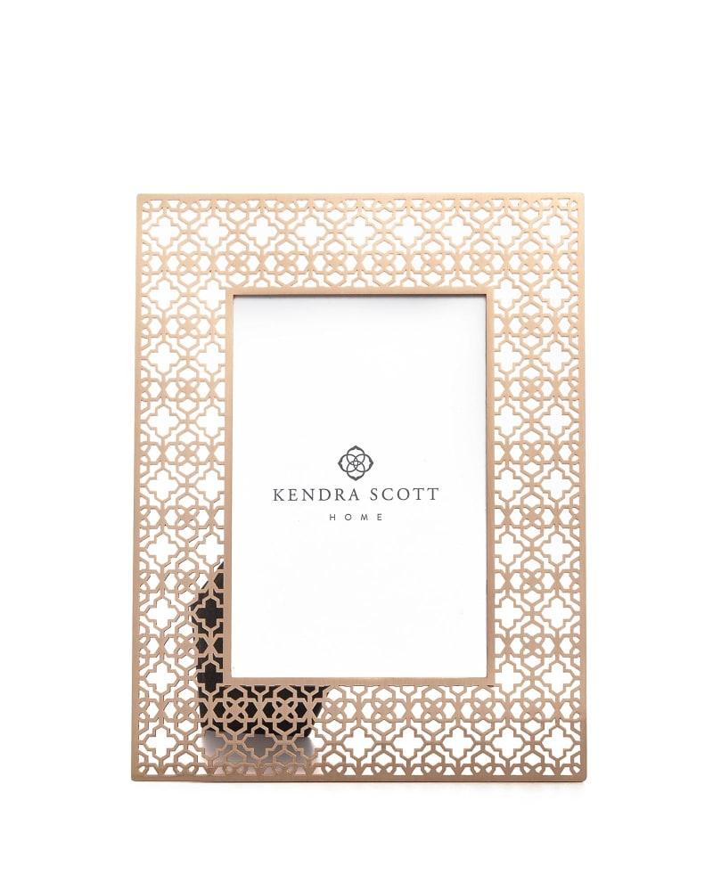 4x6 Filigree Photo Frame in Rose Gold