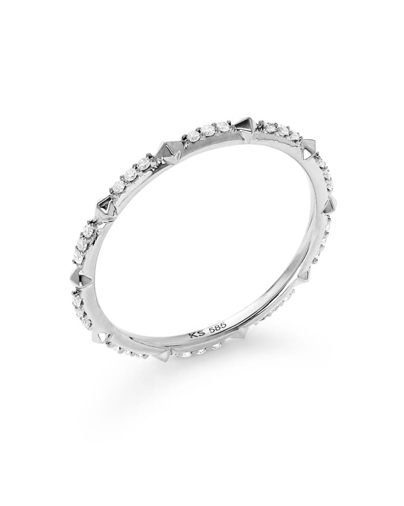 Astrid 14k White Gold Ring