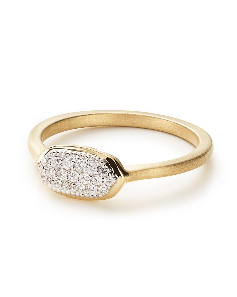 Isa Pave Diamond Ring