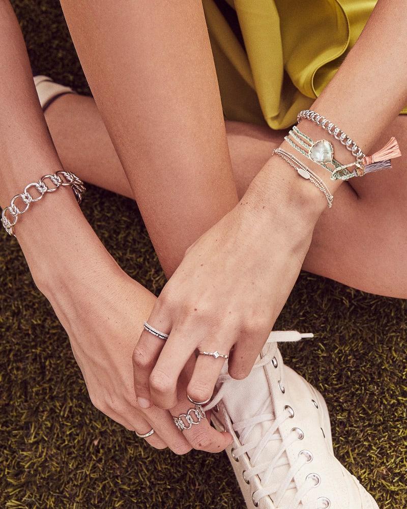 Fallyn Small Cuff Bracelet In Gold