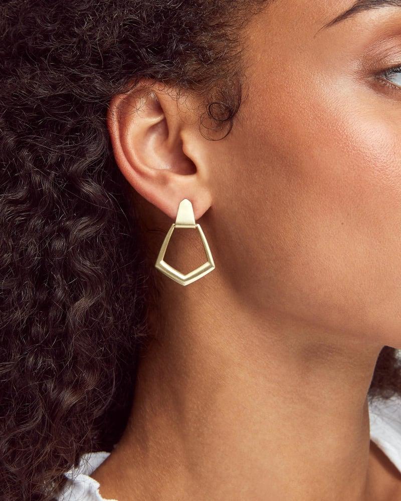 Paxton Hoop Earrings in Gold