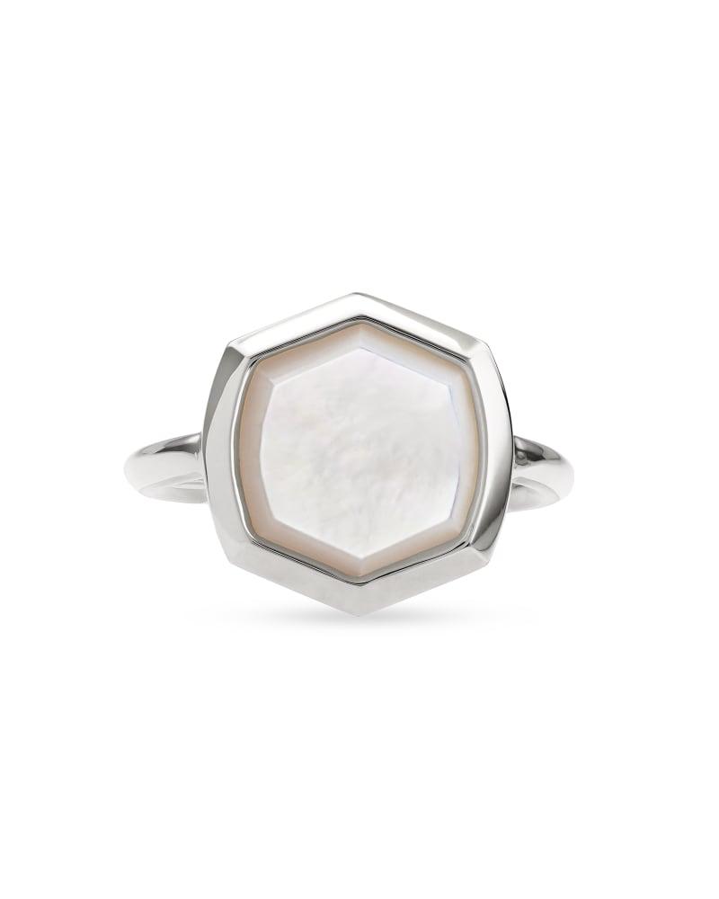 Davis Sterling Silver Cocktail Ring
