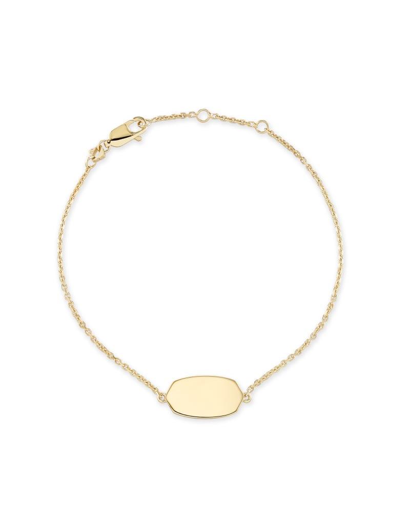 Elaina Delicate Chain Bracelet in 18k Gold Vermeil